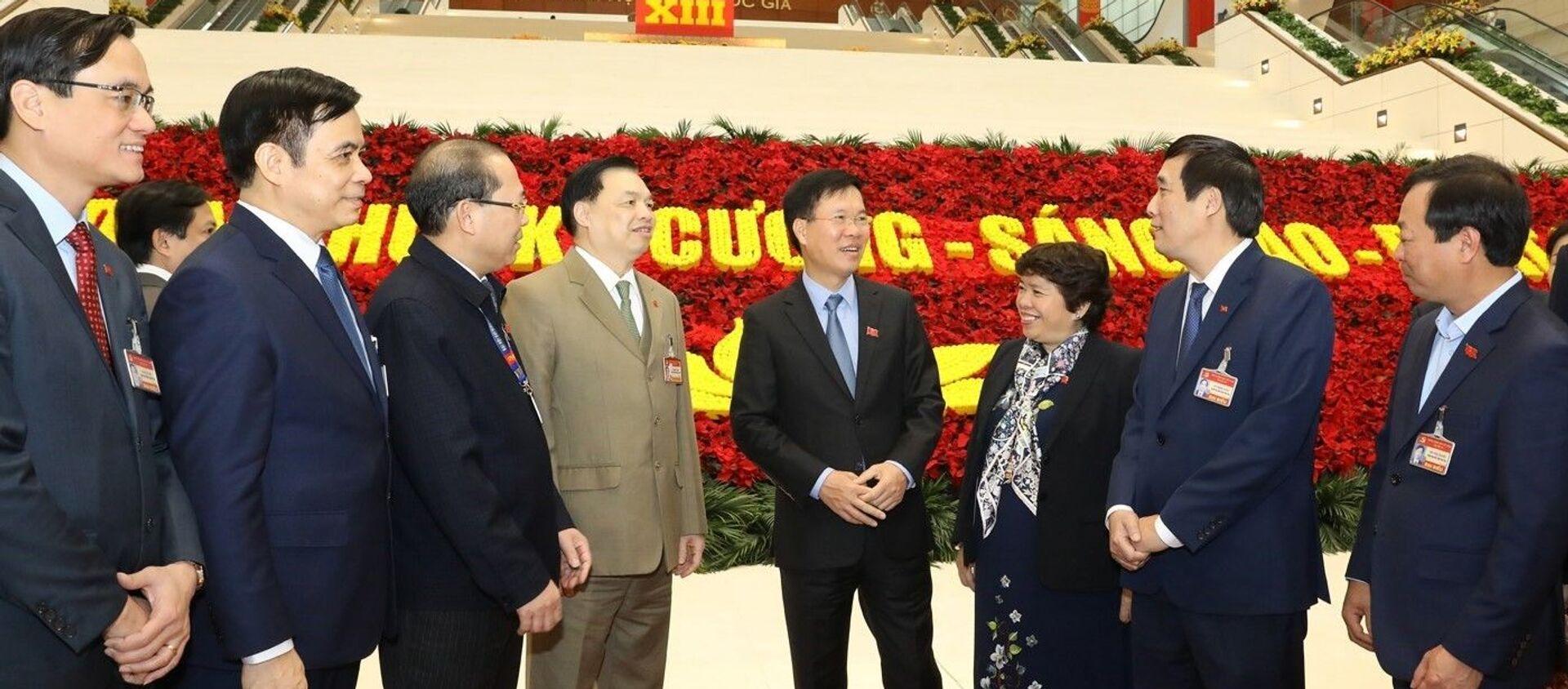 Ngày 29/1, Đại hội XIII tiếp tục làm việc về công tác nhân sự - Sputnik Việt Nam, 1920, 24.02.2021