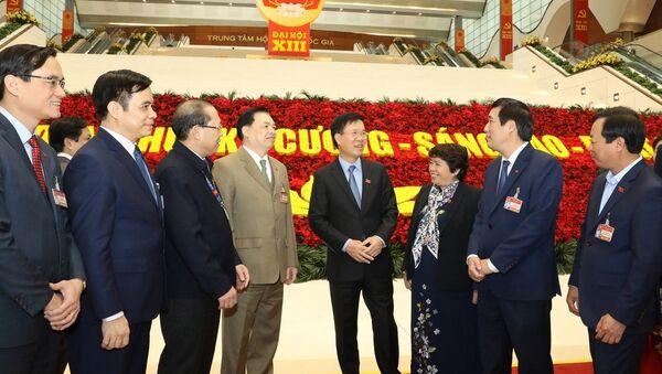 Ngày 29/1, Đại hội XIII tiếp tục làm việc về công tác nhân sự - Sputnik Việt Nam