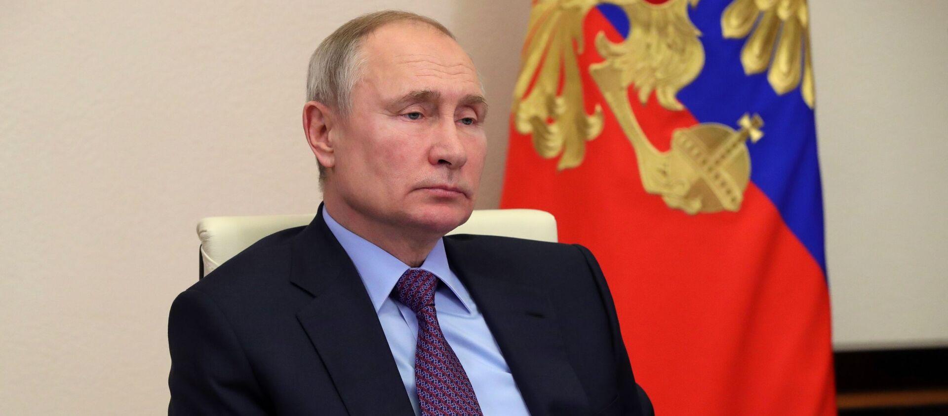 Tổng thống Nga Vladimir Putin  - Sputnik Việt Nam, 1920, 22.06.2021