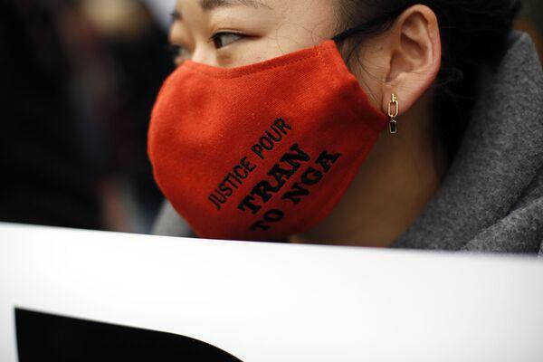 Cuộc biểu tình ở Paris ủng hộ những người bị tác động của chất độc da cam trong chiến tranh Việt Nam - Sputnik Việt Nam