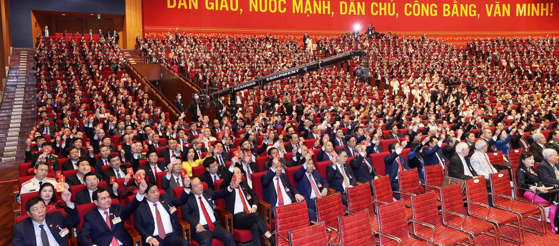 Bế mạc Đại hội Đảng toàn quốc lần thứ XIII - Sputnik Việt Nam, 1920, 22.02.2021