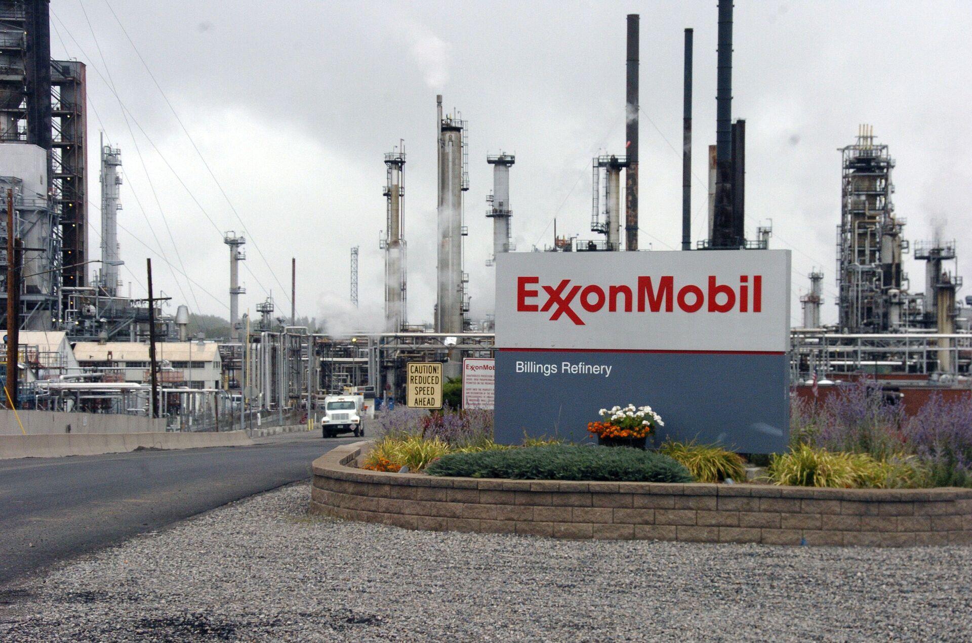 Nhà máy của công ty Exxon Mobil - Sputnik Việt Nam, 1920, 05.10.2021