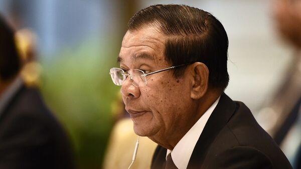 Thủ tướng Campuchia Hun Sen - Sputnik Việt Nam