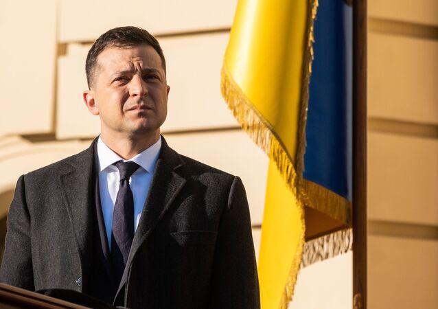 Tổng thống Ukrainа Vladimir Zelensky.