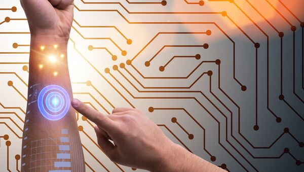 Cánh tay robot của con người - Sputnik Việt Nam