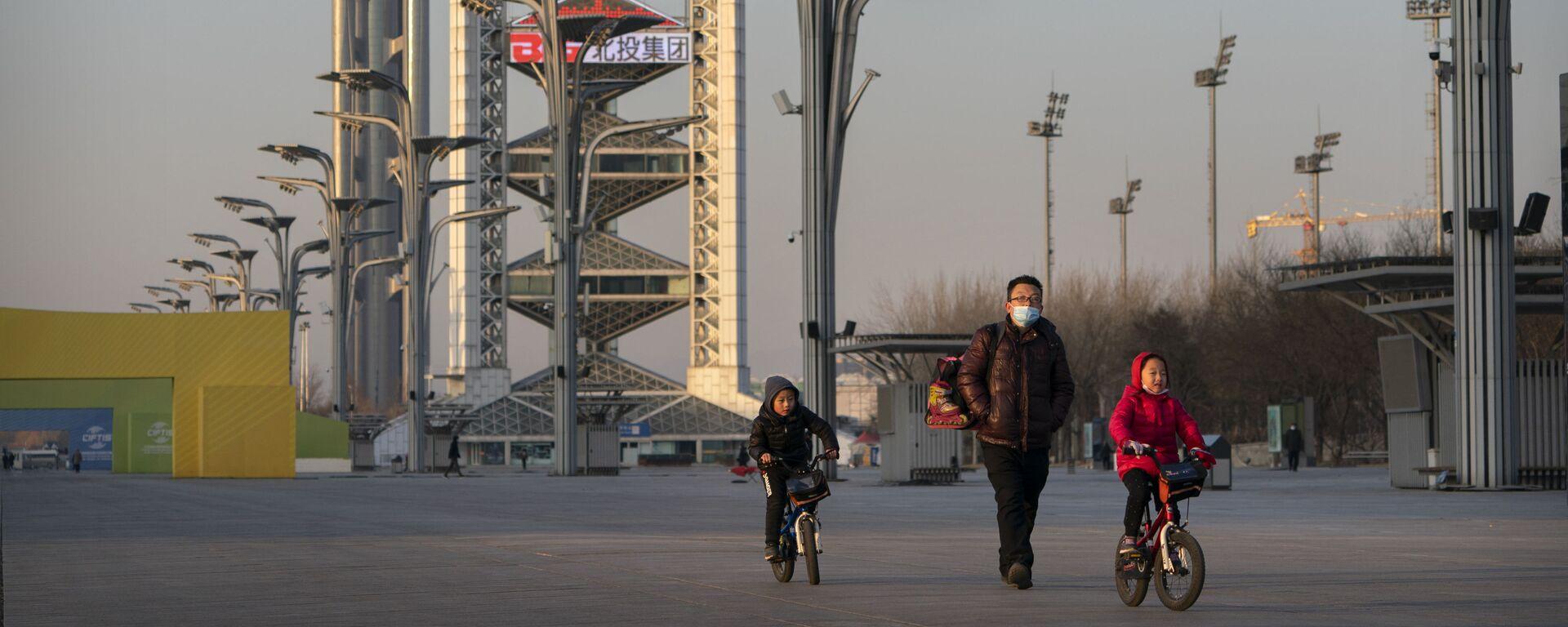 Đếm ngược thời gian đến khi bắt đầu Thế vận hội 2022 tại Bắc Kinh. - Sputnik Việt Nam, 1920, 08.04.2021