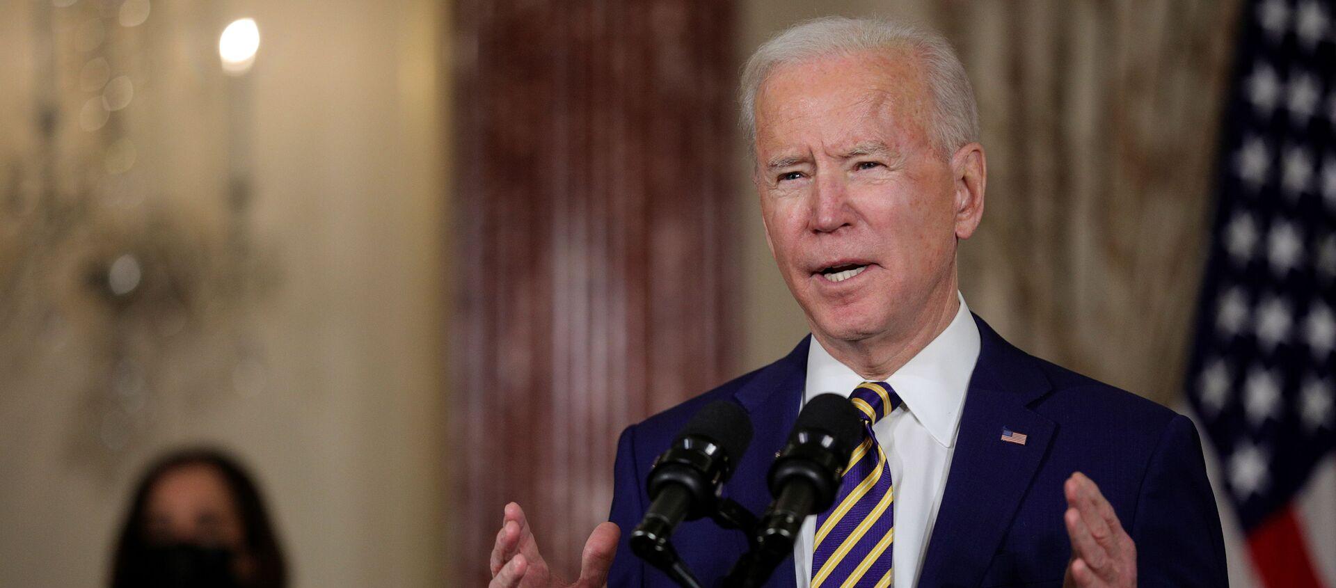 Tổng thống Mỹ Joe Biden  - Sputnik Việt Nam, 1920, 05.02.2021