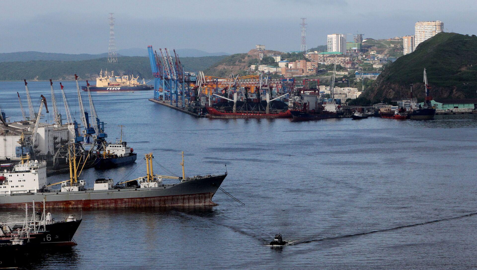 Vịnh Zolotoi Rog (Sừng Vàng) ở Vladivostok - Sputnik Việt Nam, 1920, 22.07.2021