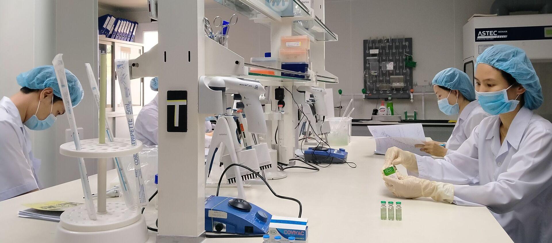 Nghiên cứu vaccine COVID-19 tại Viện Vaccine và Sinh phẩm Y tế tại tỉnh Khánh Hòa. - Sputnik Việt Nam, 1920, 09.02.2021