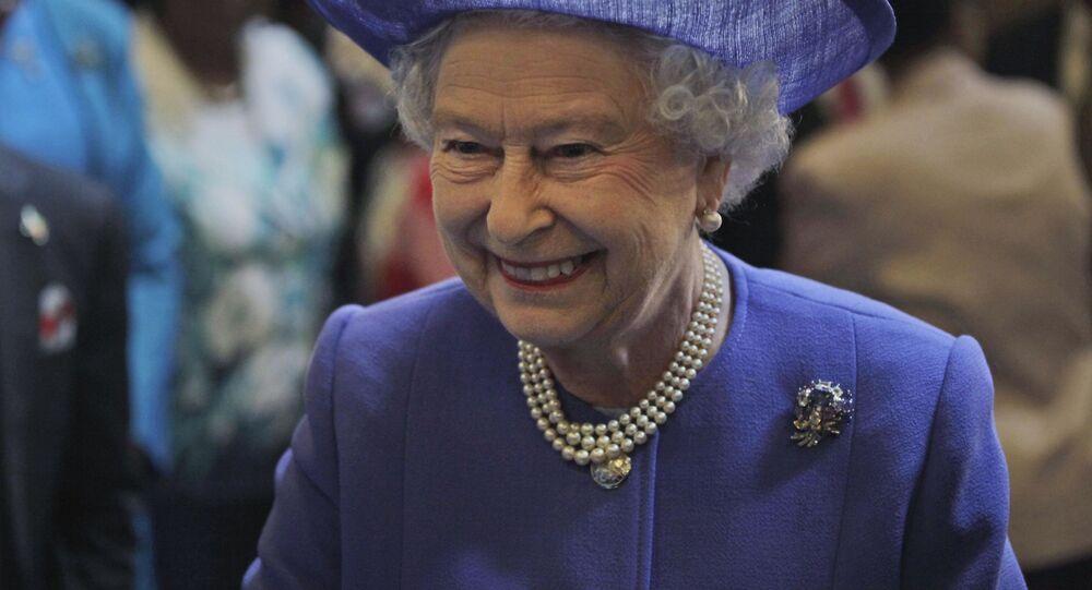 Nữ hoàng Anh Elizabeth II.