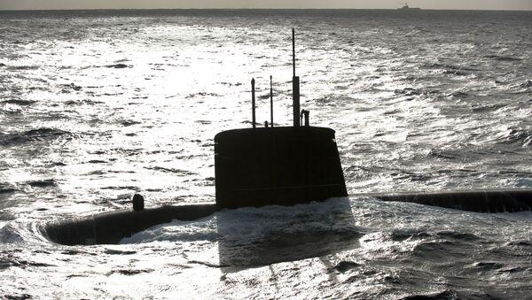 Tàu ngầm hạt nhân Émeraude. - Sputnik Việt Nam