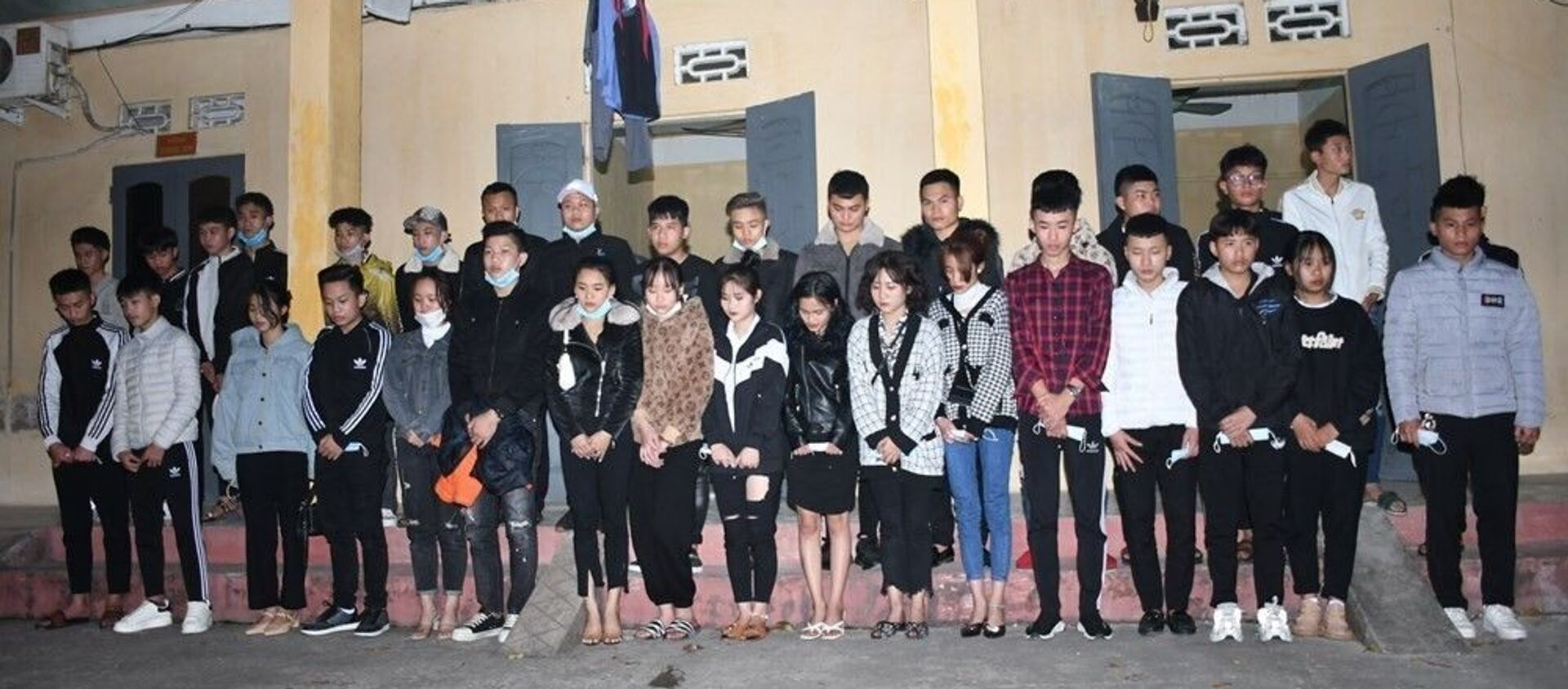 Các đối tượng vi phạm bị tạm giữ - Sputnik Việt Nam, 1920, 14.02.2021