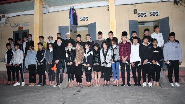Các đối tượng vi phạm bị tạm giữ - Sputnik Việt Nam