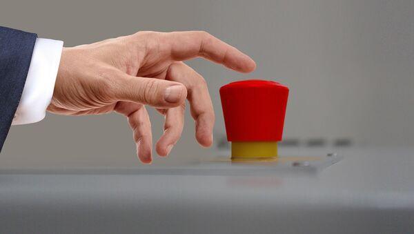 Nút phóng vũ khí hạt nhân. - Sputnik Việt Nam