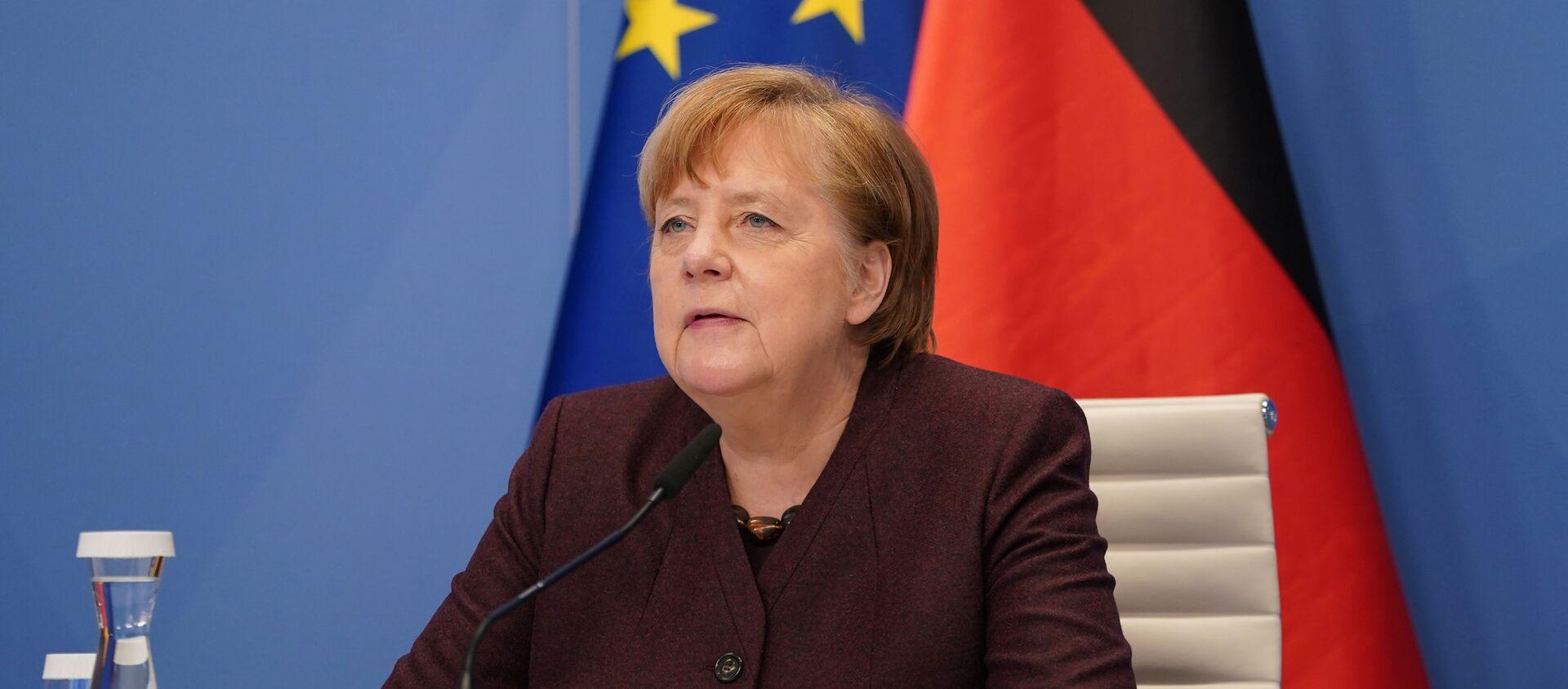 Thủ tướng Đức Angela Merkel - Sputnik Việt Nam, 1920, 15.02.2021