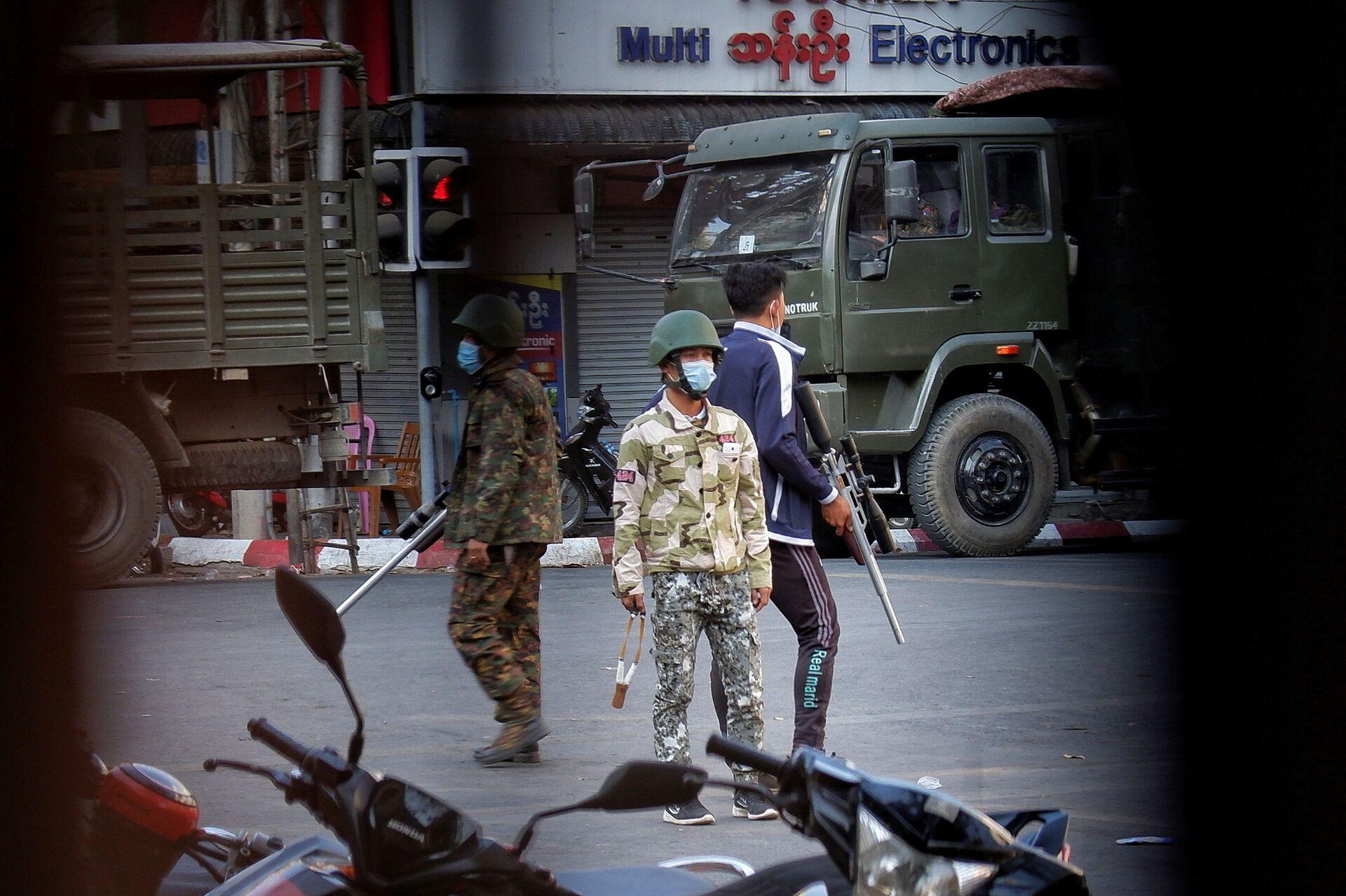 Khủng hoảng ở Myanmar có thể giải quyết như thế nào? - Sputnik Việt Nam, 1920, 04.03.2021