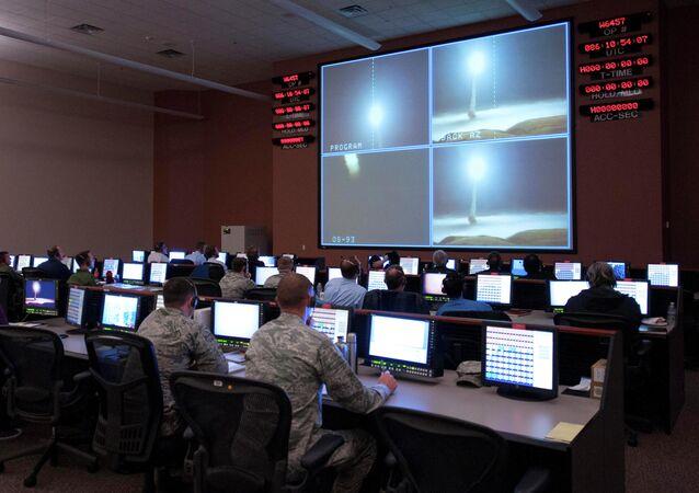 Vụ phóng thử tên lửa Minuteman III tại Vandenberg AFB, California