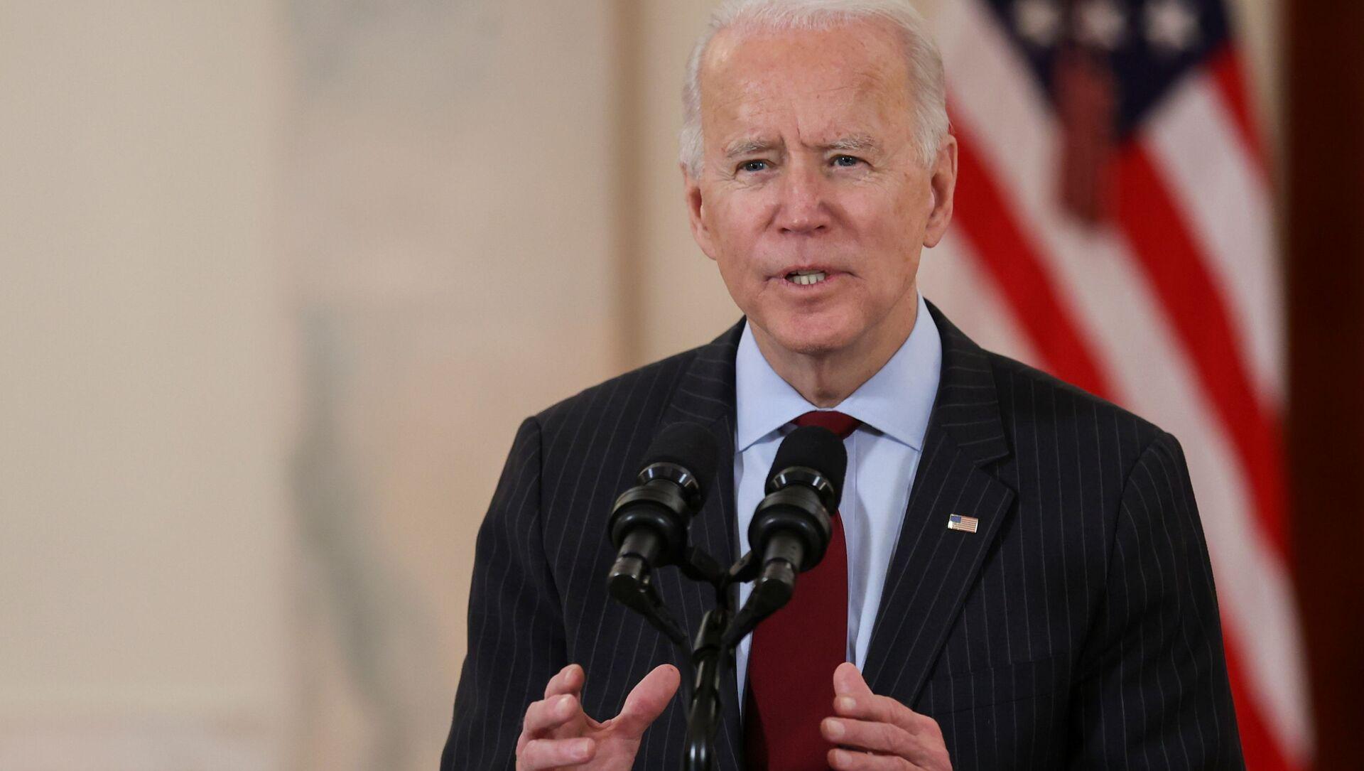 Tổng thống Mỹ Joe Biden. - Sputnik Việt Nam, 1920, 10.03.2021