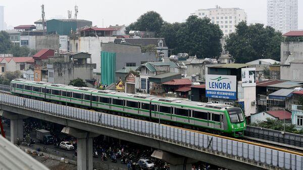 Đường sắt đô thị Cát Linh – Hà Đông. - Sputnik Việt Nam