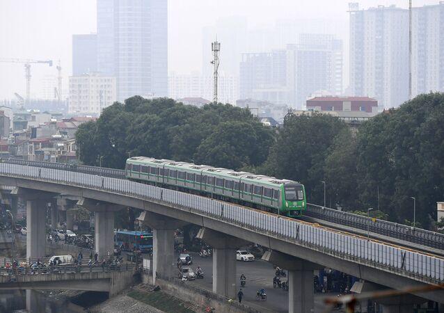 Đường sắt đô thị Cát Linh – Hà Đông.