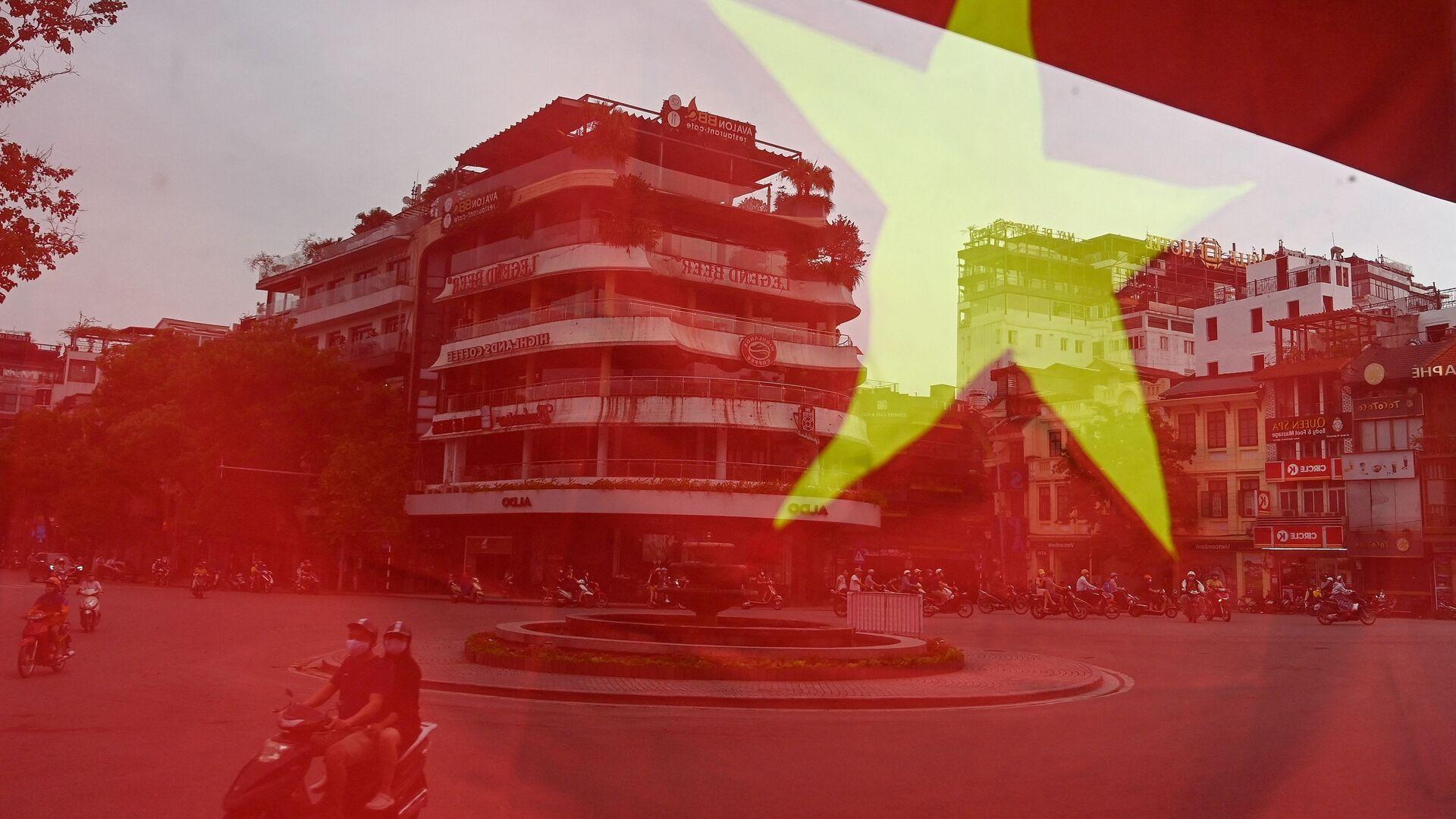 Cột cờ Việt Nam, Hà Nội. - Sputnik Việt Nam, 1920, 26.03.2021