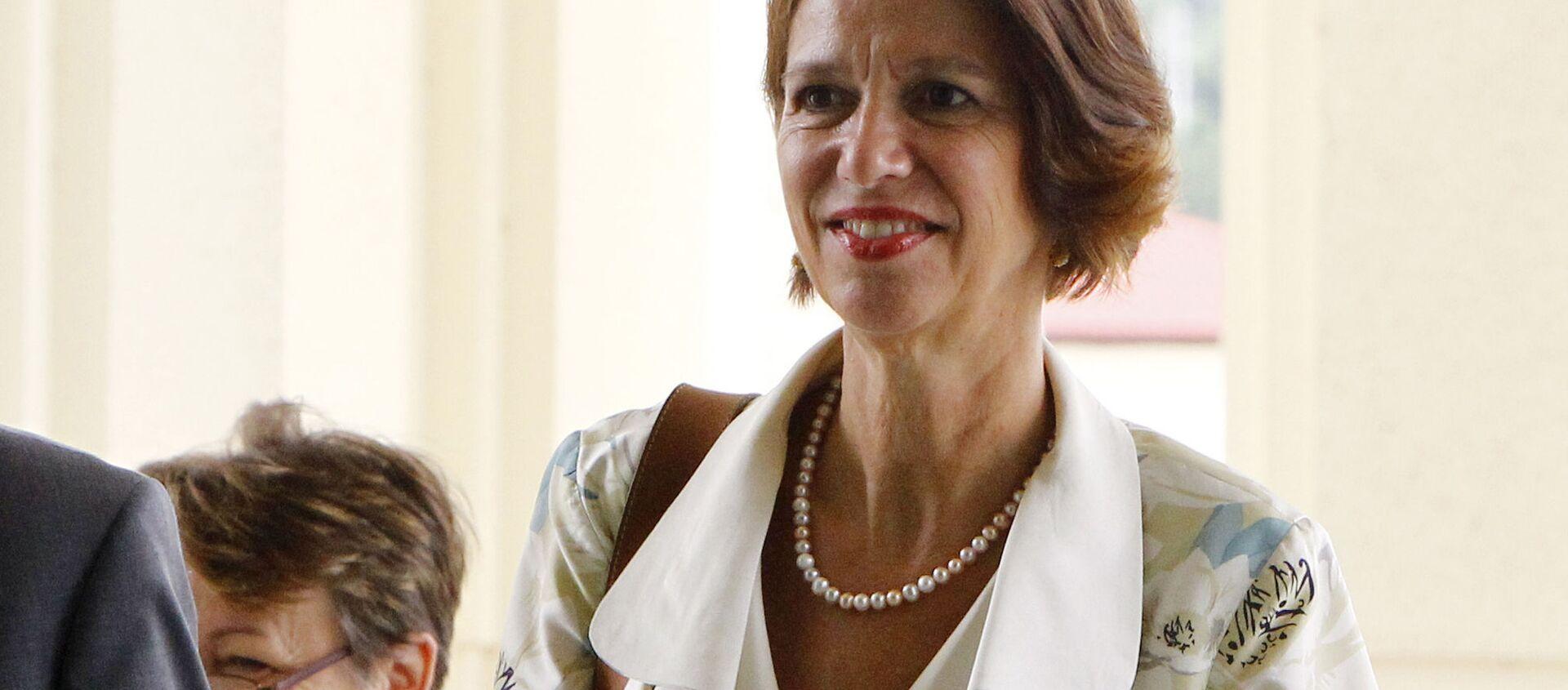 Đặc phái viên Tổng thư ký Liên Hiệp Quốc về Myanmar Christine Schraner-Burgener. - Sputnik Việt Nam, 1920, 26.02.2021