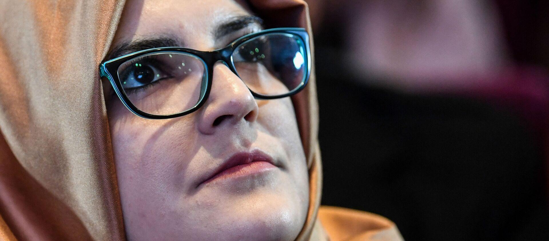 Cô dâu của nhà báo đối lập Ả Rập Xê Út Jamal Khashoggi, Hatice Cengiz - Sputnik Việt Nam, 1920, 01.03.2021