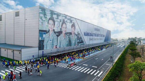Nhà máy Samsung tại Việt Nam. - Sputnik Việt Nam