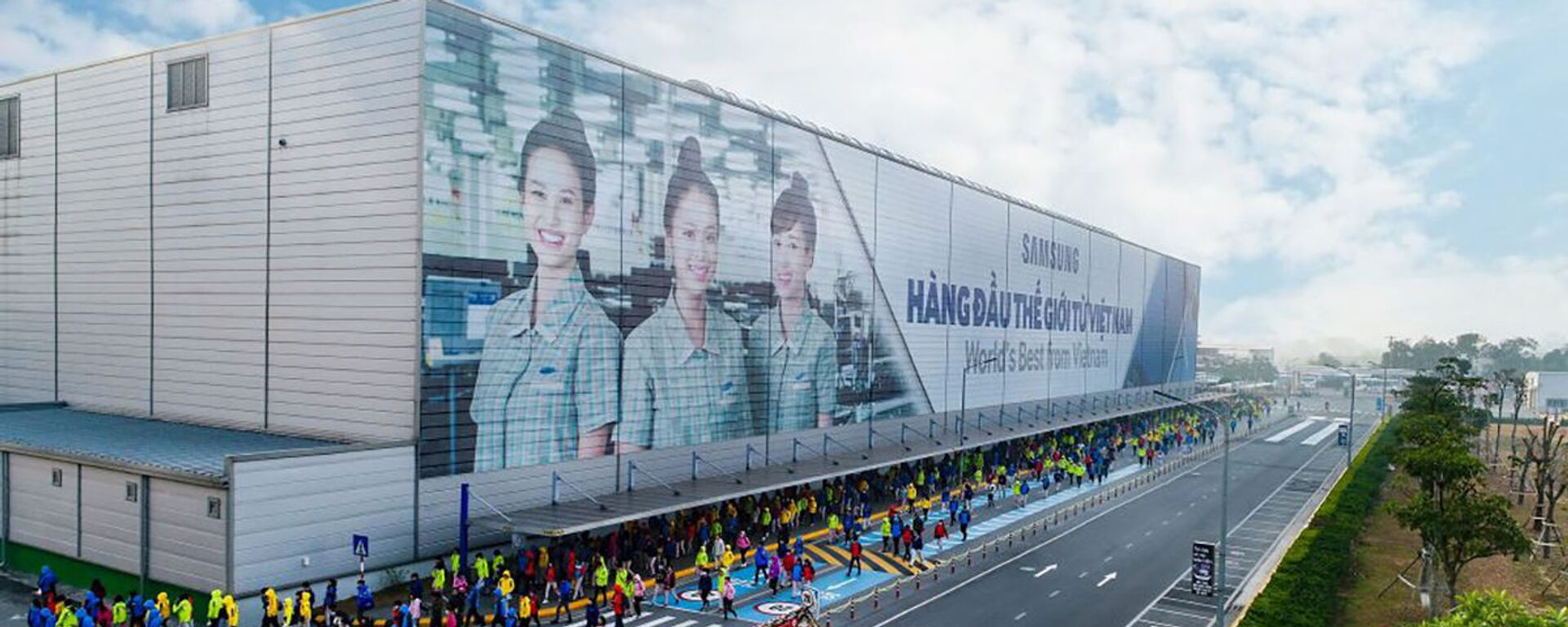 Nhà máy Samsung tại Việt Nam. - Sputnik Việt Nam, 1920, 01.03.2021