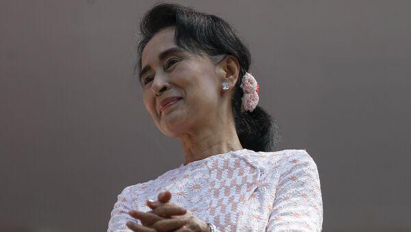 Cựu lãnh đạo Myanmar Aung San Suu Kyi - Sputnik Việt Nam