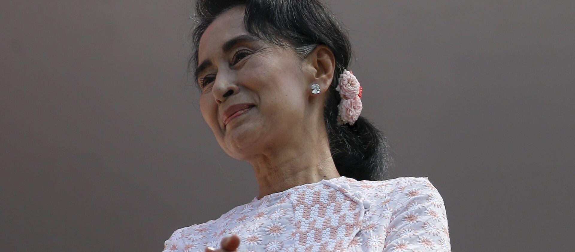 Cựu lãnh đạo Myanmar Aung San Suu Kyi - Sputnik Việt Nam, 1920, 01.03.2021
