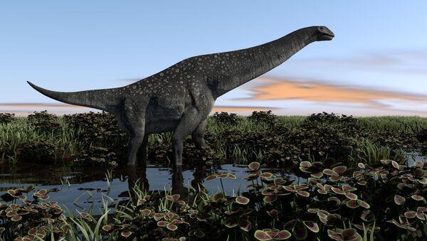 Khủng long titanosaur  - Sputnik Việt Nam