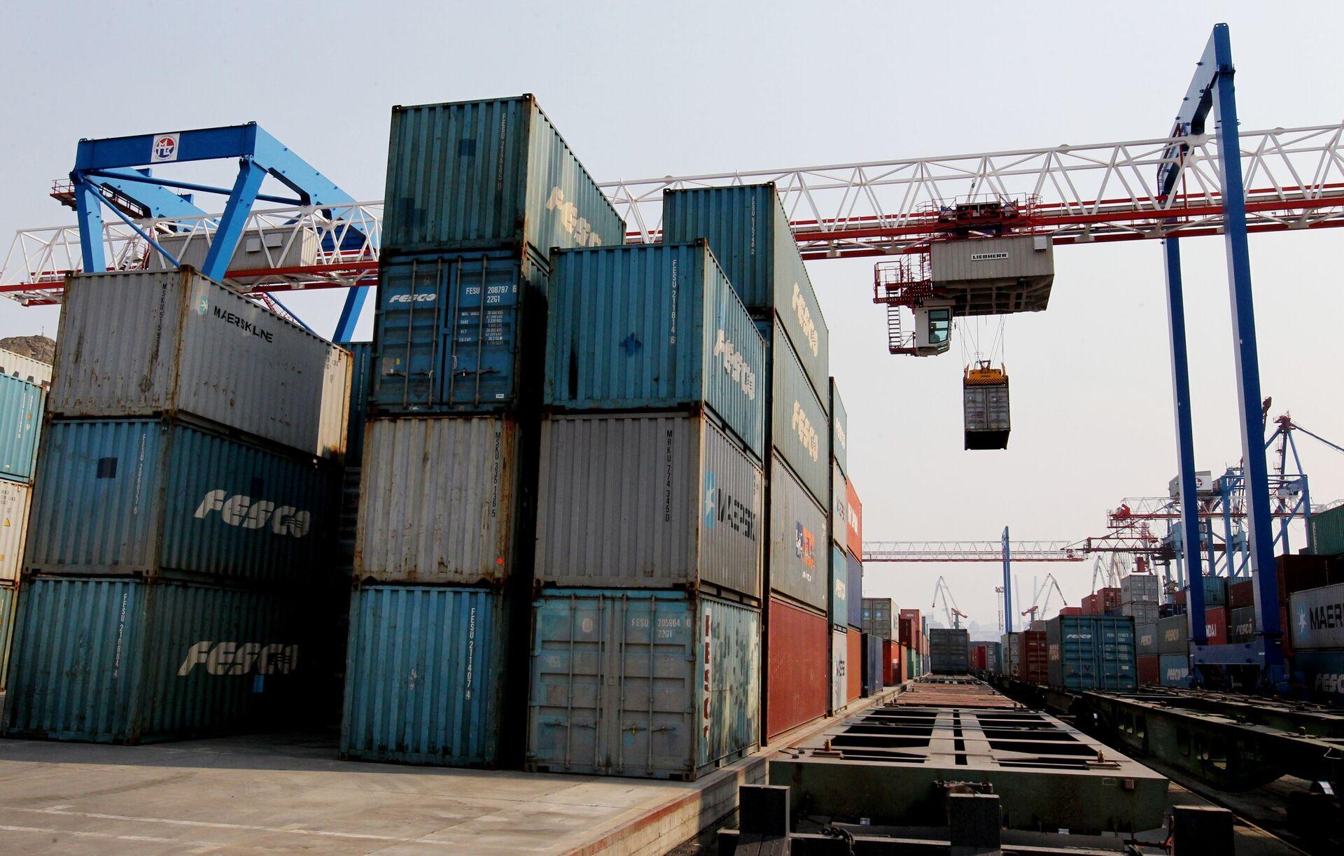 Khủng hoảng container. Thiếu hụt container ở Nga sẽ đưa tới những hậu quả gì? - Sputnik Việt Nam, 1920, 01.03.2021