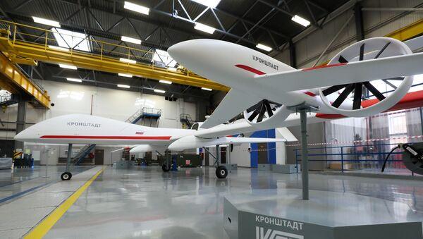 UAV trong gian hàng của khu liên hợp sản xuất công nghiệp Kronshtadt - Sputnik Việt Nam