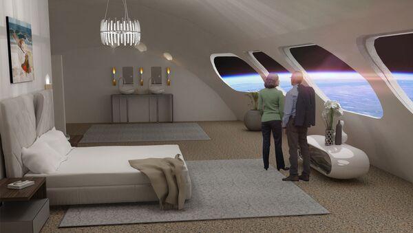 Phòng sang trọng Luxury Villa  tại khách sạn Voyager Station Space - Sputnik Việt Nam
