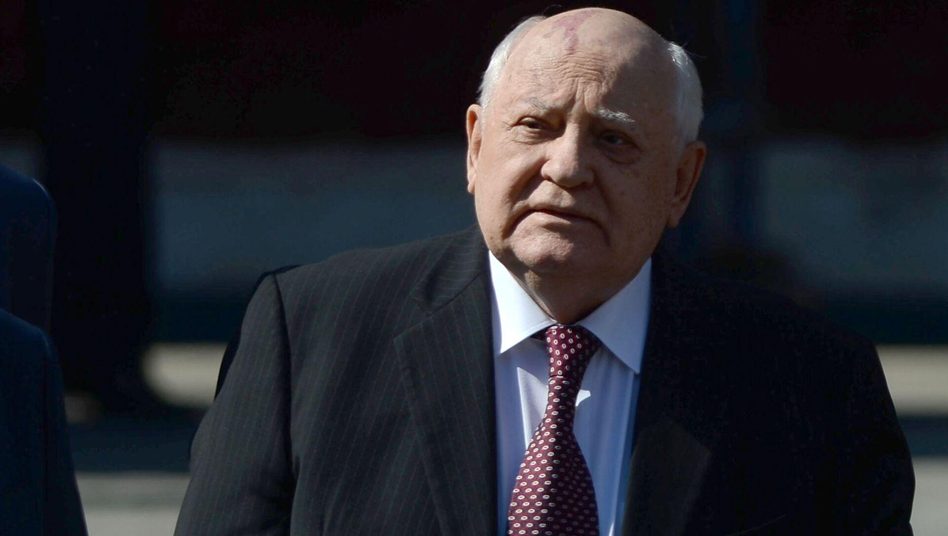 Cựu Tổng thống Liên Xô Mikhail Gorbachev trên Quảng trường Đỏ - Sputnik Việt Nam, 1920, 03.08.2021