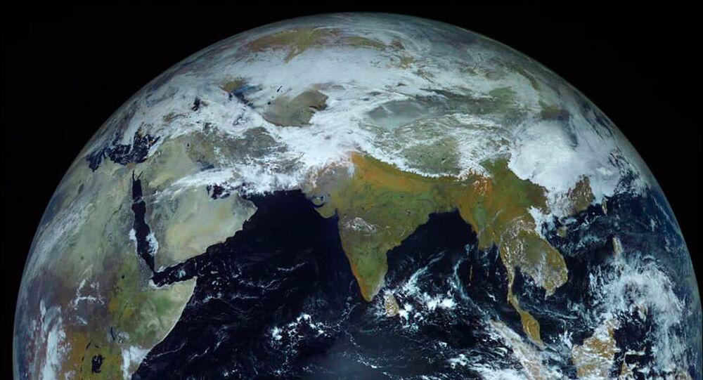 Ảnh Trái đất do tàu vũ trụ Electro-L chụp
