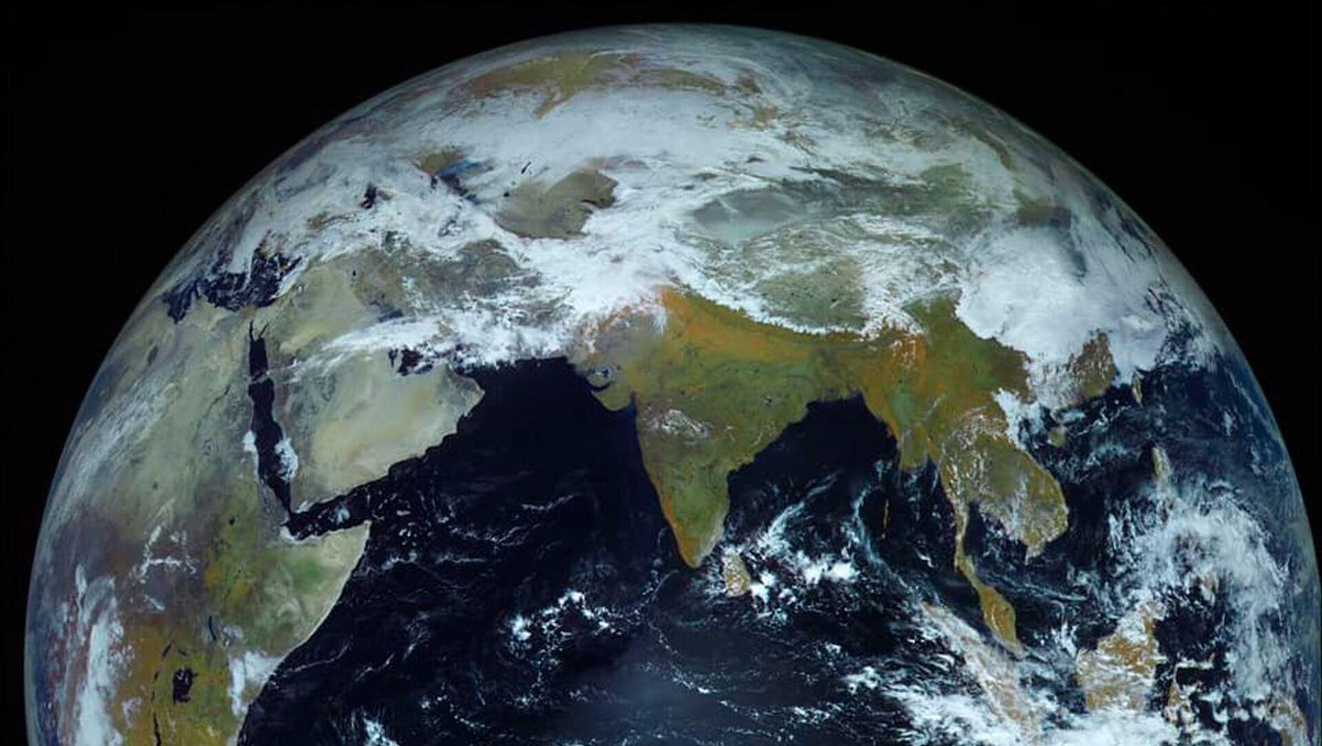 Ảnh Trái đất do tàu vũ trụ Electro-L chụp - Sputnik Việt Nam, 1920, 04.04.2021