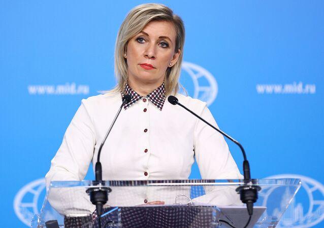 Phát ngôn viên Bộ Ngoại giao Nga Maria Zakharova.