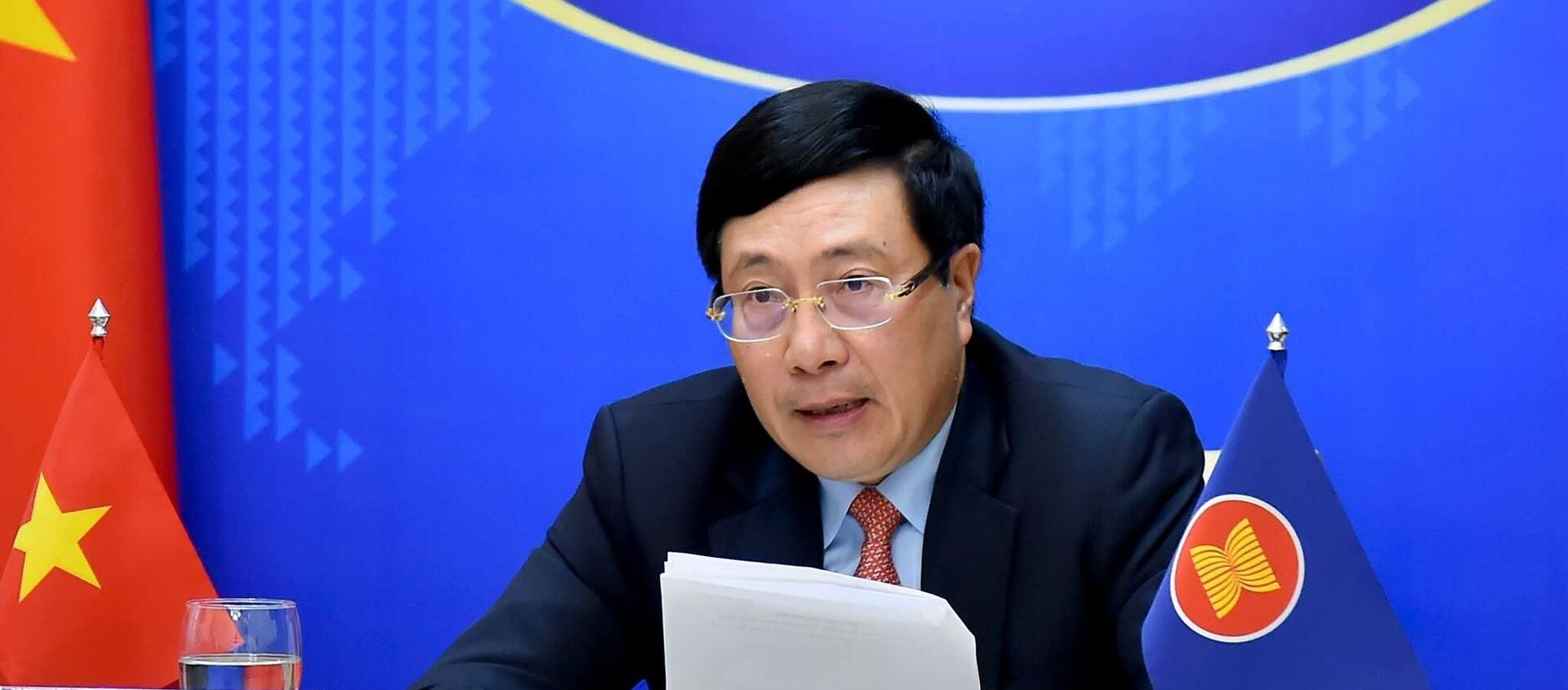Hội nghị Bộ trưởng Ngoại giao ASEAN không chính thức (IAMM). - Sputnik Việt Nam, 1920, 02.03.2021