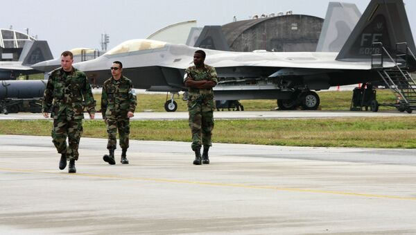 Căn cứ Mỹ Kadena ở quận Okinawa, Nhật Bản - Sputnik Việt Nam