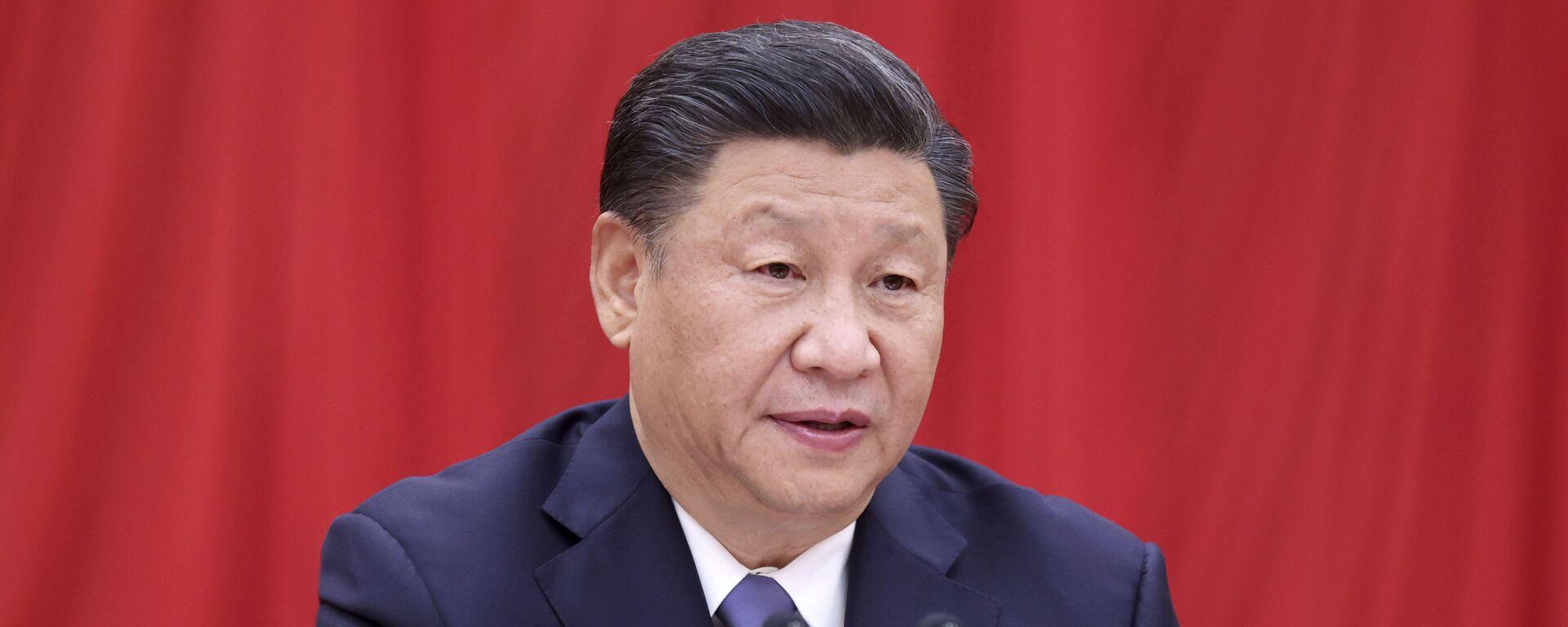 Chủ tịch nước Cộng hòa Nhân dân Trung Hoa Tập Cận Bình - Sputnik Việt Nam, 1920, 09.10.2021