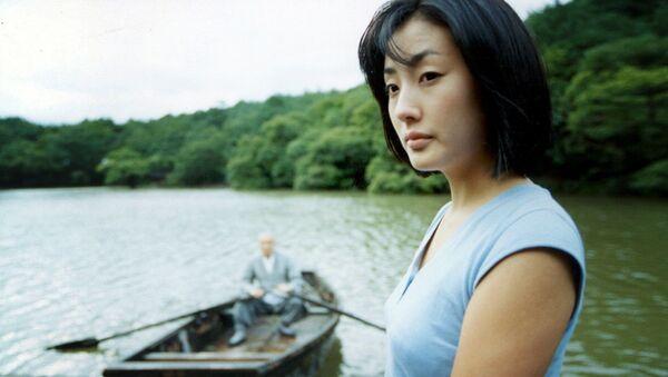Một cảnh trong phim Xuân, hạ, thu, đông ... rồi lại xuân của đạo diễn Hàn Quốc Kim Ki Duk - Sputnik Việt Nam