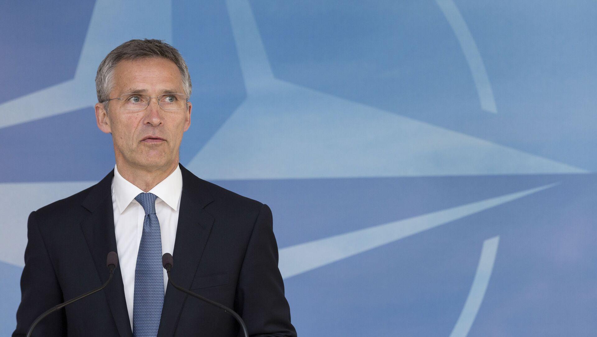 Tổng thư ký NATO Jens Stoltenberg - Sputnik Việt Nam, 1920, 05.03.2021