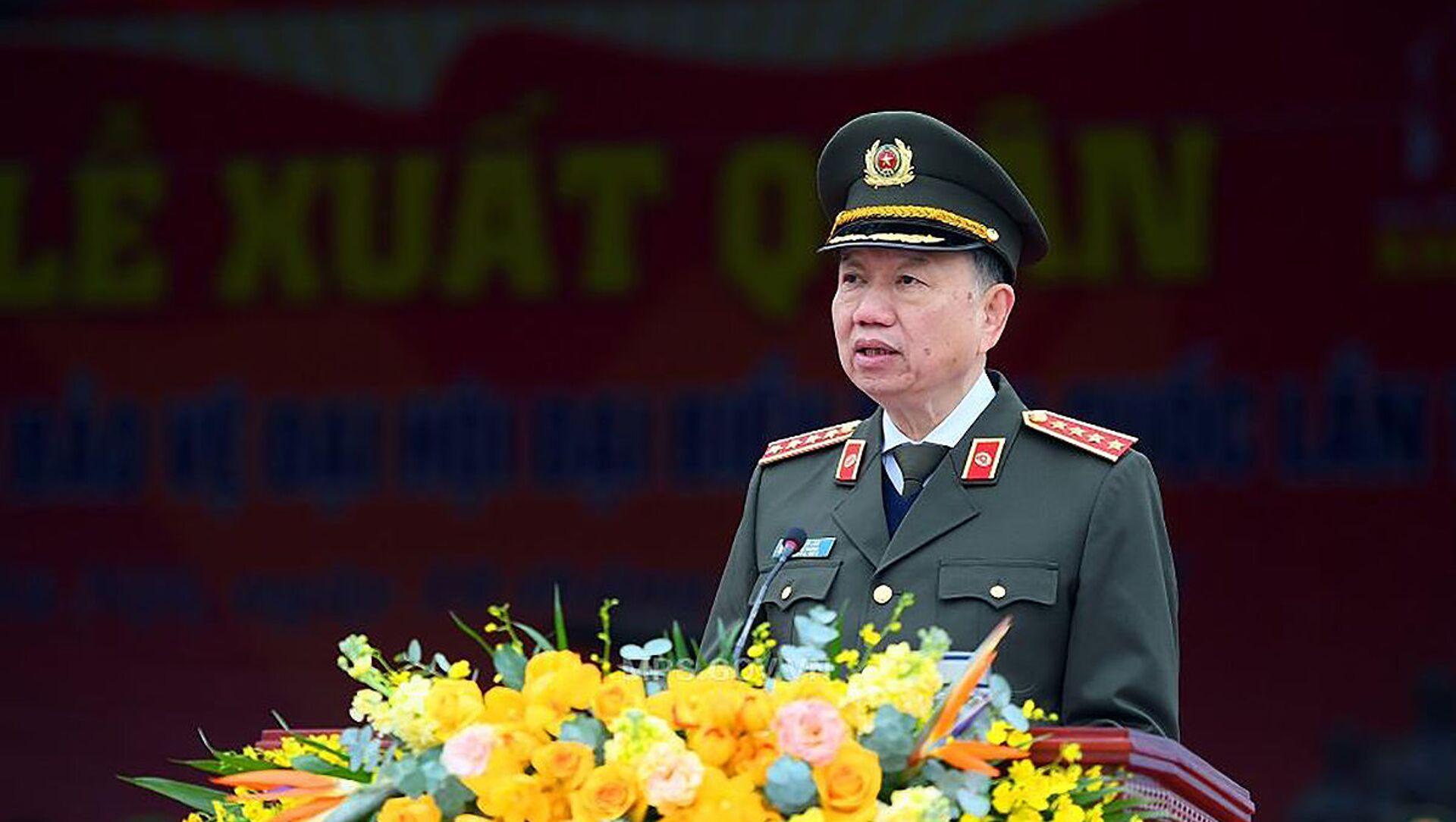 Bộ trưởng Tô Lâm. - Sputnik Việt Nam, 1920, 05.03.2021