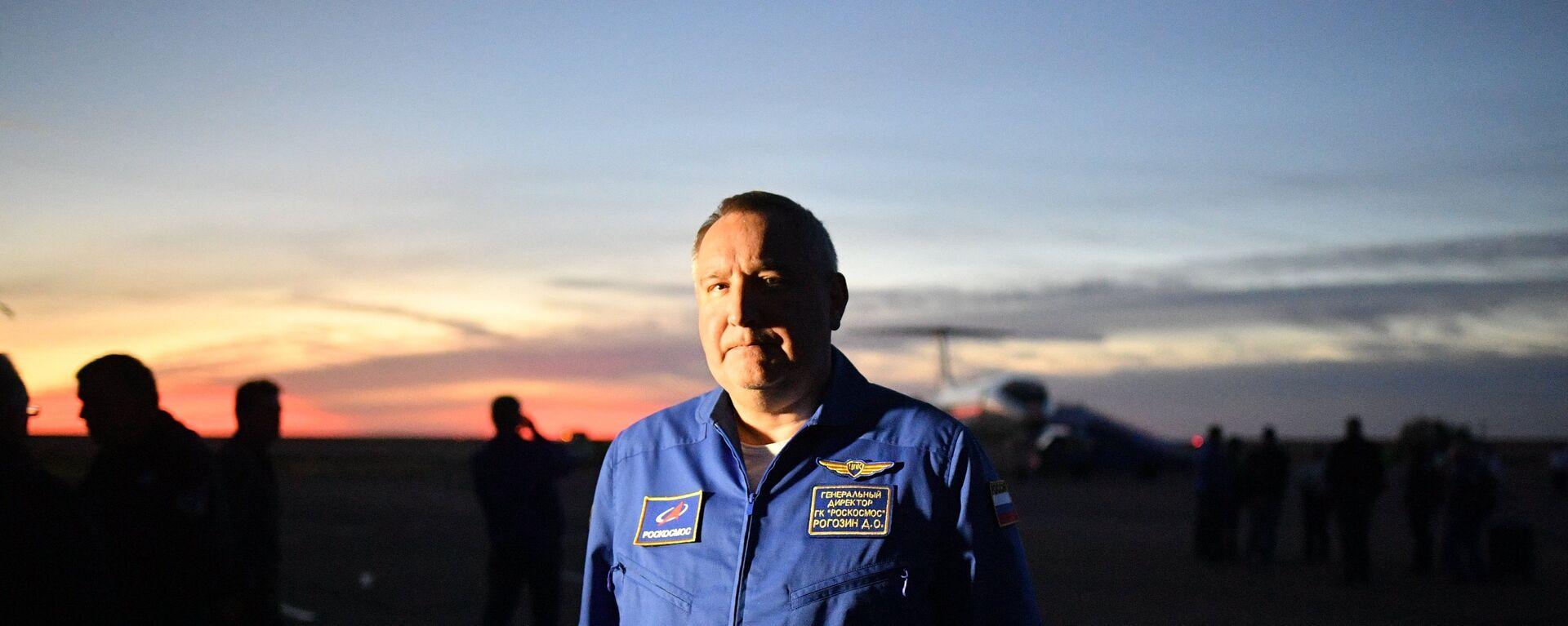 Dmitry Rogozin, người đứng đầu tập đoàn nhà nước Roscosmos của Nga - Sputnik Việt Nam, 1920, 06.03.2021