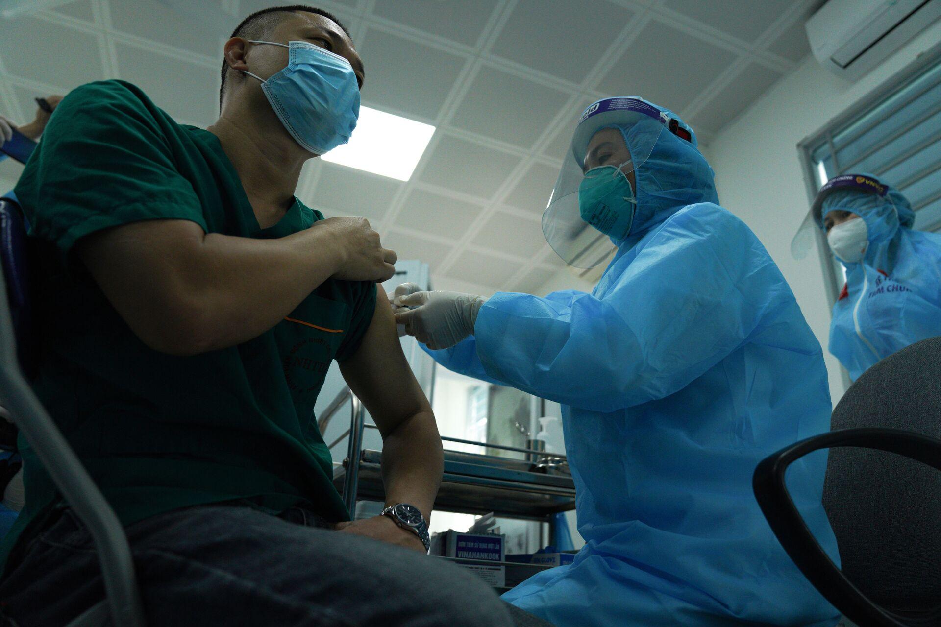 Bộ Ngoại Giao lên tiếng về việc nhập  vaccine Sputnik V về Việt Nam - Sputnik Việt Nam, 1920, 27.05.2021