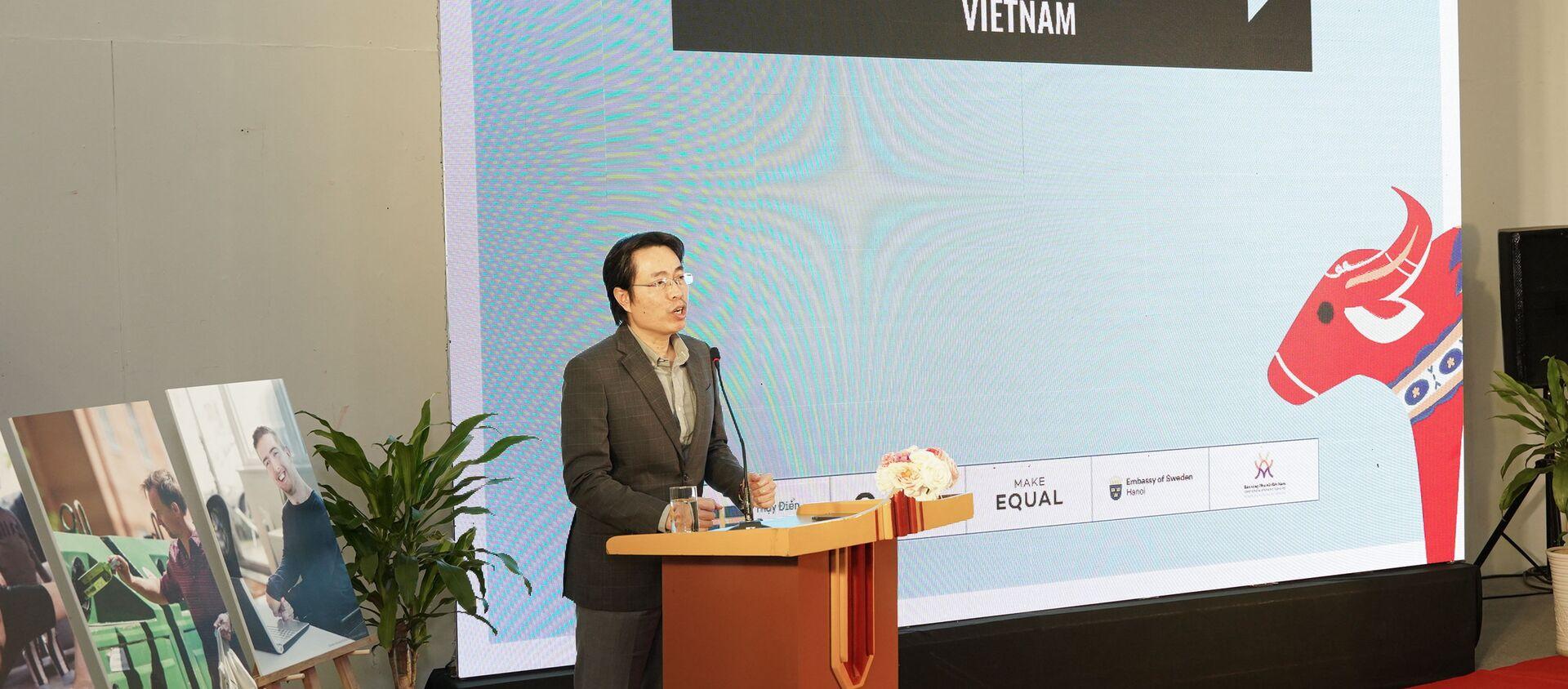 Cục trưởng Cục trẻ em, Bộ LĐ-TB&XH Đặng Hoa Nam chia sẻ tại Toạ đàm - Sputnik Việt Nam, 1920, 09.03.2021