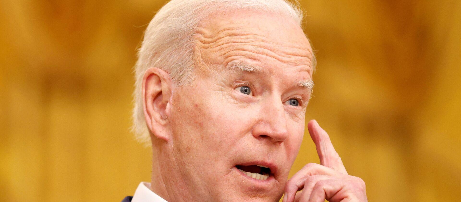 Tổng thống Biden tổ chức một sự kiện vào Ngày Quốc tế Phụ nữ tại Nhà Trắng ở Washington - Sputnik Việt Nam, 1920, 17.03.2021