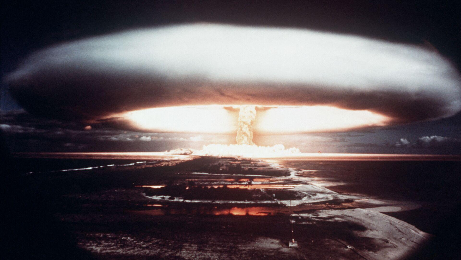 Các vụ thử hạt nhân tại Mururoa, 1971 - Sputnik Việt Nam, 1920, 10.03.2021